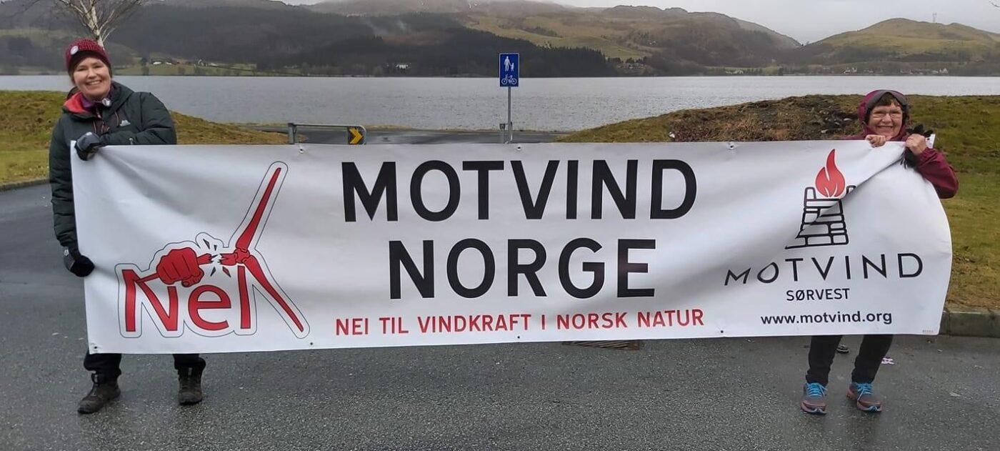 Motvind Norge, E39, Nei til vindkraft