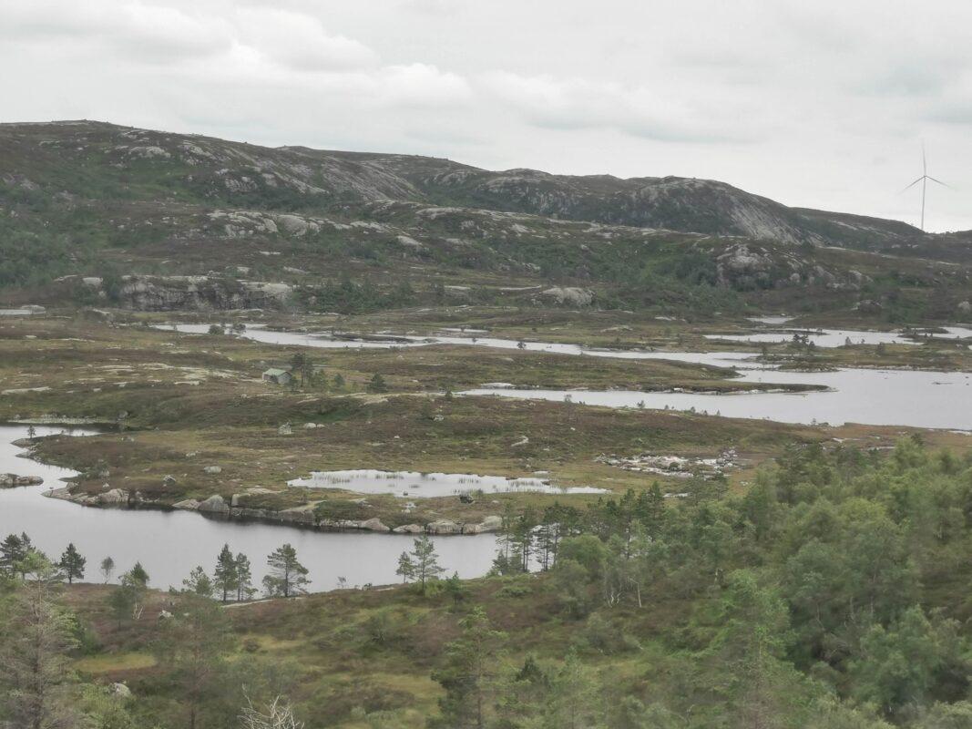 Tonstad, Natur og vindkraft, Agder