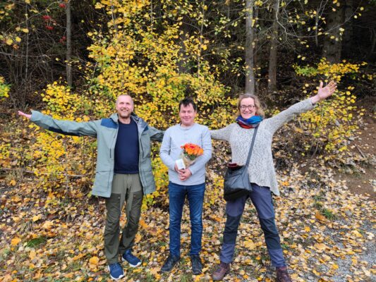 Anne Baardvik, Eivind Salen, Fovsen Njaarke